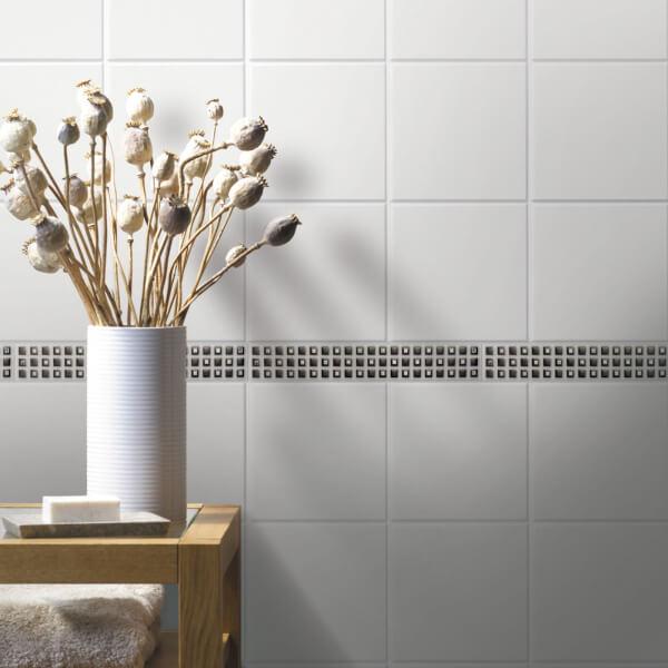 White Wall Tile - 150 x 150mm