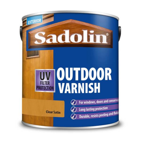 Sadolin Outdoor Varnish Satin - 2.5L