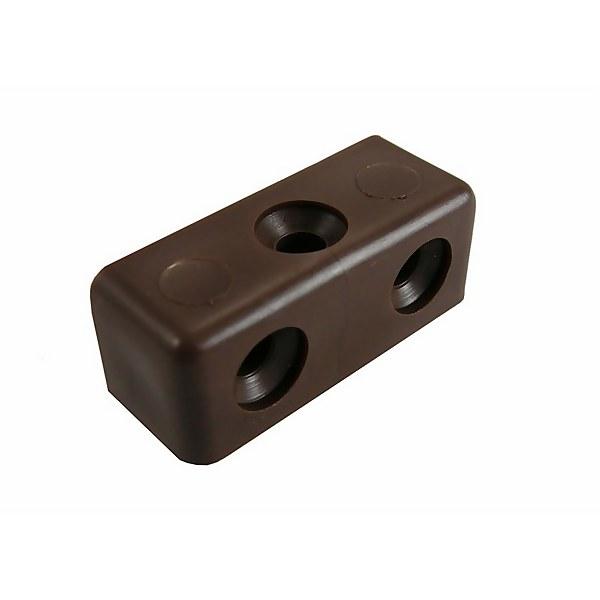 Fixing Block Brown - 6 Pack