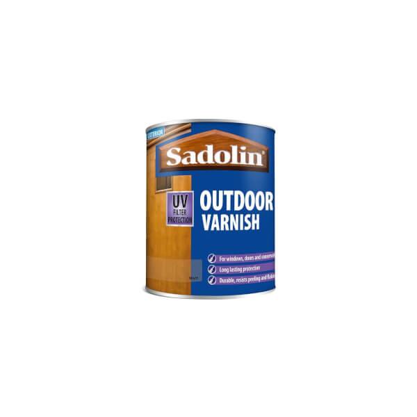 Sadolin Outdoor Varnish - Clear Matt -750ml