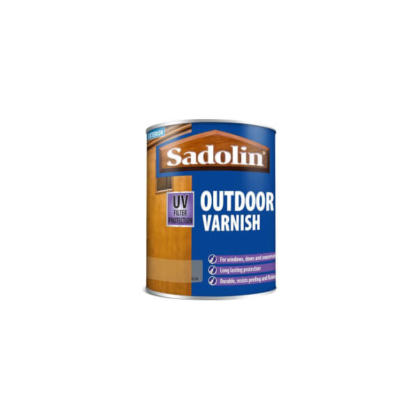 Sadolin Outdoor Varnish - Clear Satin -750ml
