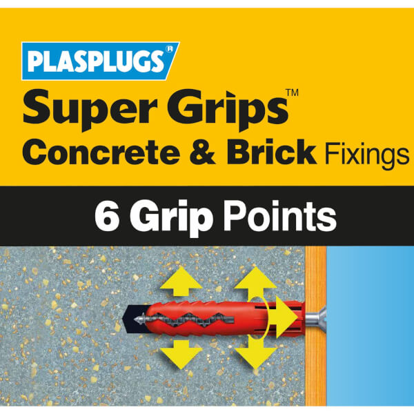 Plasplugs Hollow Wall Kit 150 mixed pieces