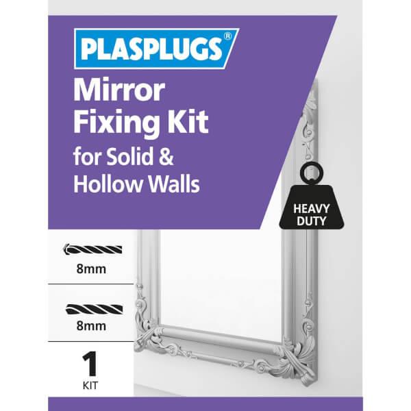 Plasplugs Mirror Fixing Kit