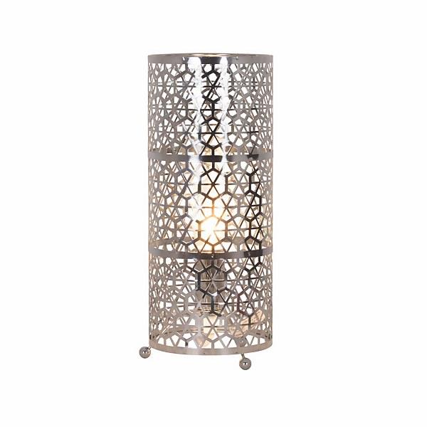 Pandora Metal Table Lamp - Chrome