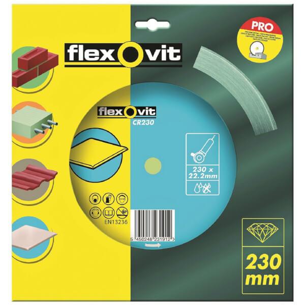 Flexovit Continuous Rim Diamond Blade - 230mm