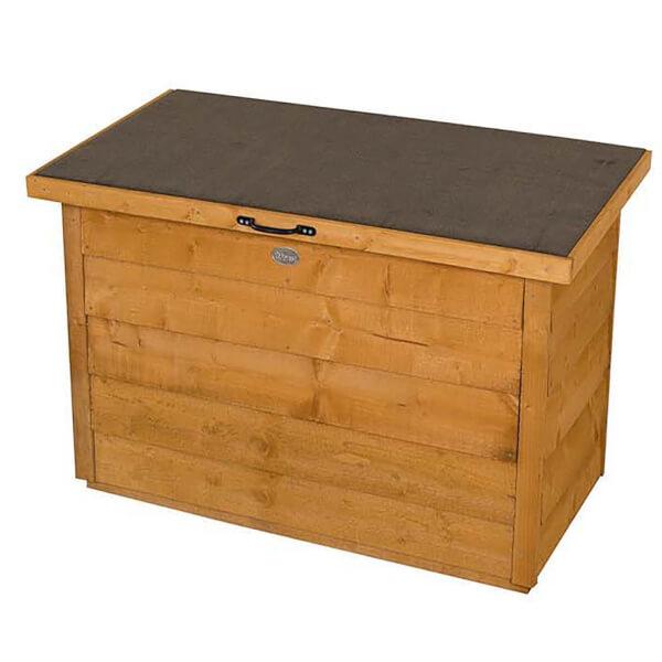 Forest Garden Wooden Dip Treated Garden Storage Box