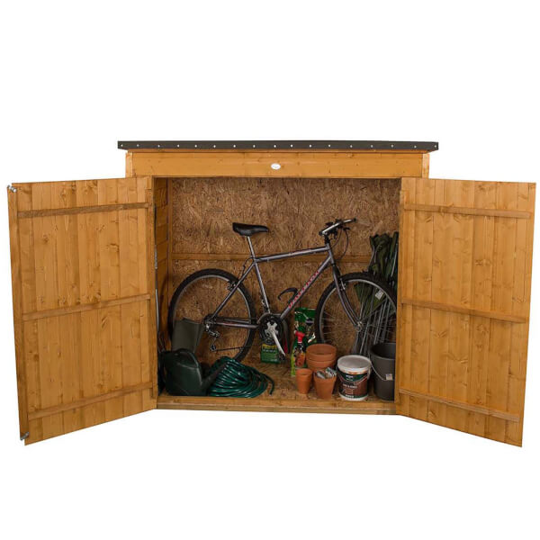 Forest Garden Wooden Large Dip Treated Outdoor Store
