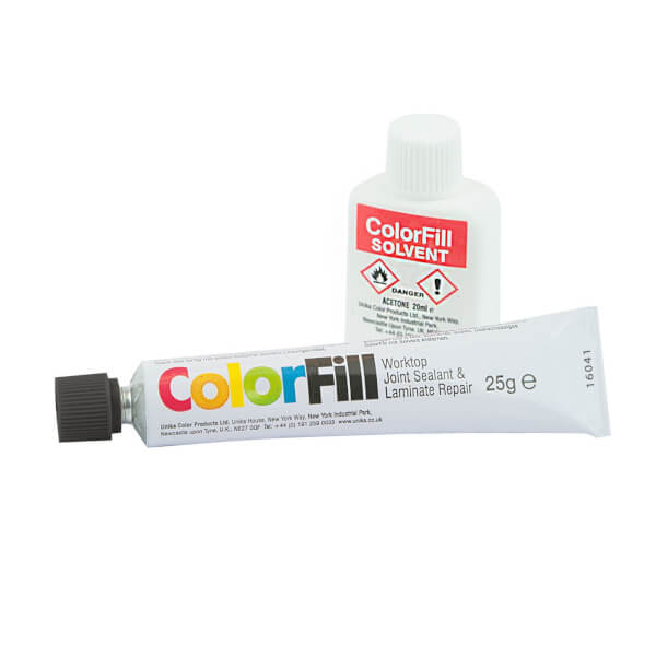 Unika Colorfill And Solvent Black Granite - 25g