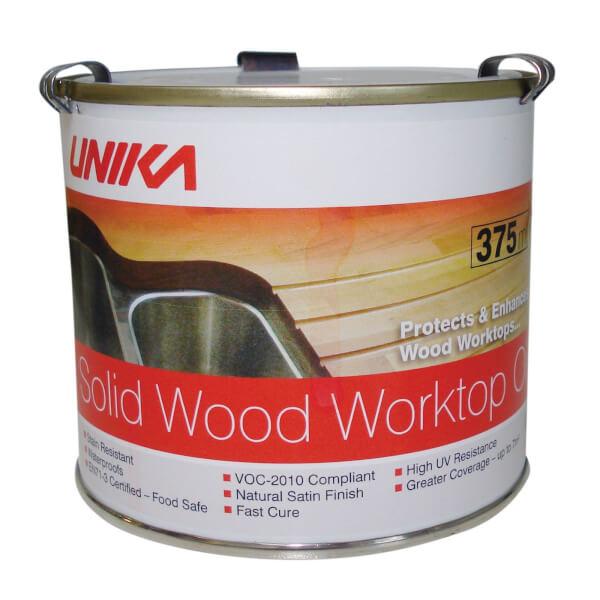 Unika Solid Wood Worktop Oil - 375ml