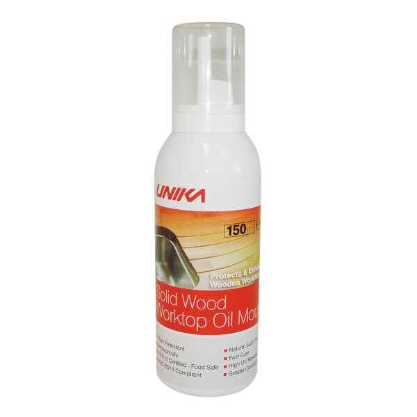 Unika Solid Wood Rejuve Oil Mousse - 150ml