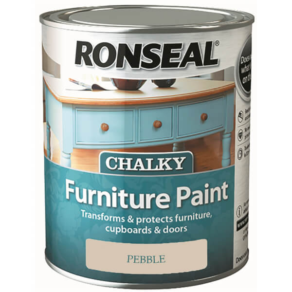 Ronseal Chalk Paint Pebble - 750ml