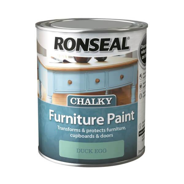 Ronseal Chalk Paint Duck Egg - 750ml