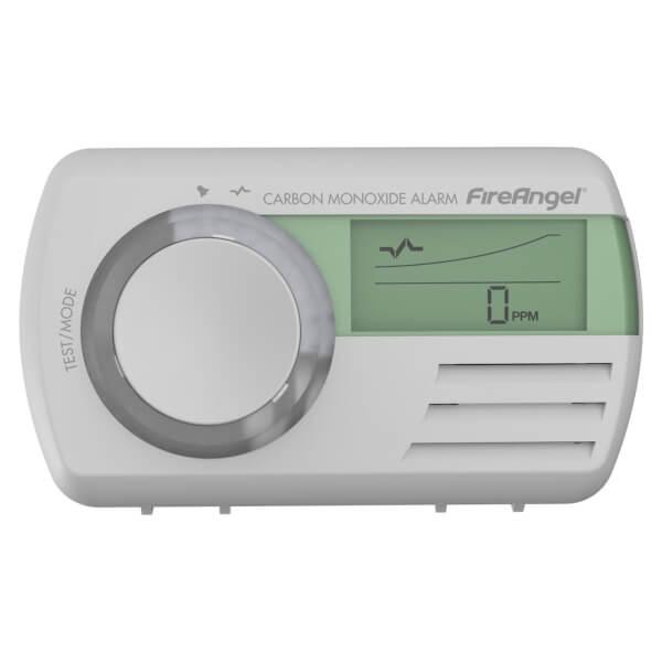 Carbon Monoxide Alarm Digital 7 Year Life
