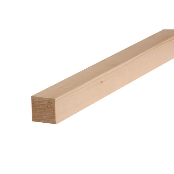 Planed Softwood 44 x 44mm x 2.4m
