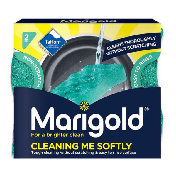 Marigold Cleaning Me Softly Scourers - Pack of 2