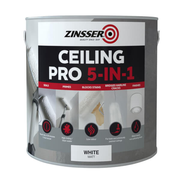 Zinsser Ceiling Pro 5 in 1 - 2.5L