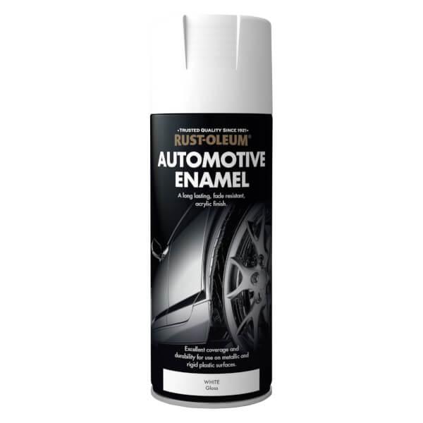 Rust-Oleum Auto Enamel Gloss White - 400ml