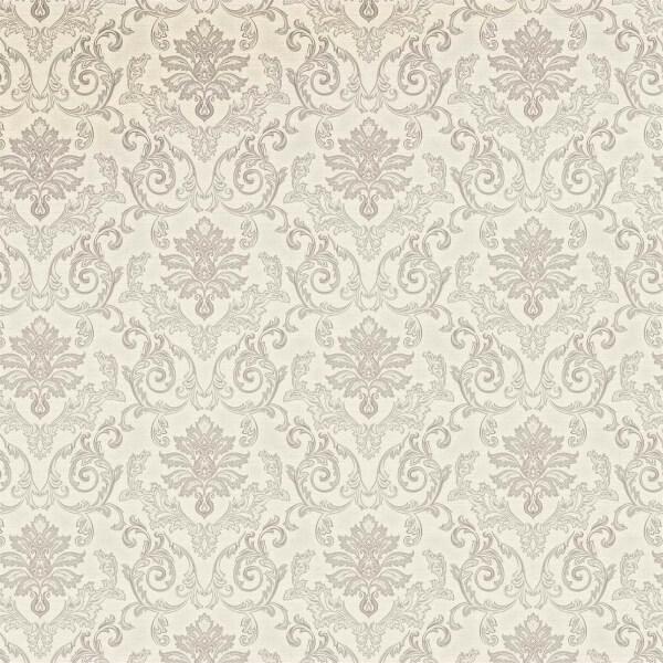Grandeco Estelle Silver Wallpaper