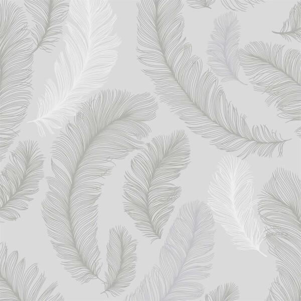 Grandeco Yasmine Grey Wallpaper