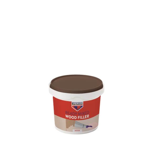Bartoline Ready Mixed Brown Wood Filler - 500g