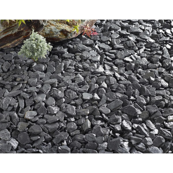 Stylish Stone Blue Slate 40mm - Large Pack