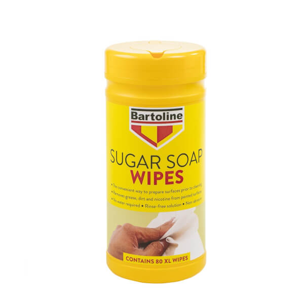 Bartoline Sugar Soap Wipes - 80 Extra Large