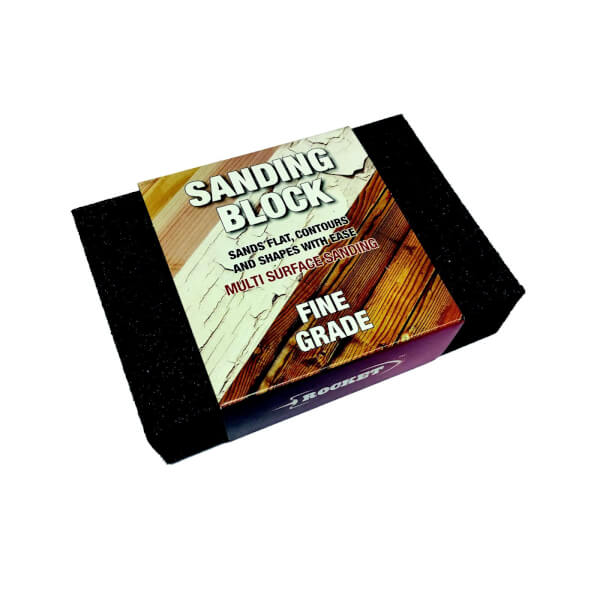 Rocket Sanding Sponge - Fine Rassfine
