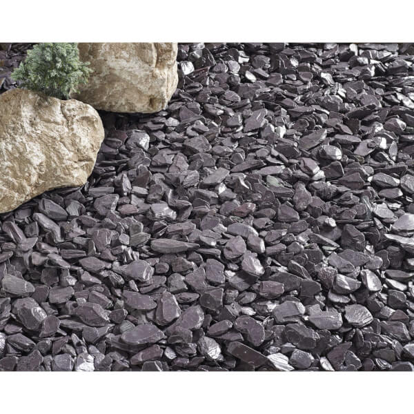 Stylish Stone Plum Slate 40mm - Large Pack