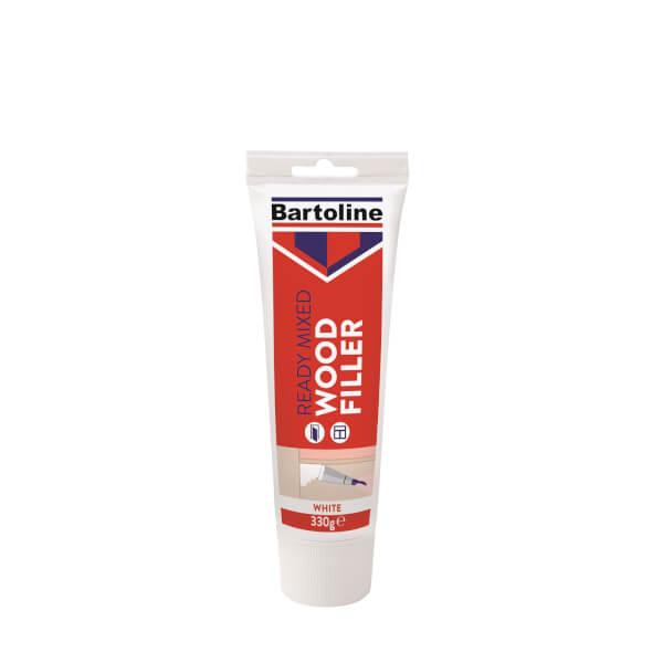 Bartoline Ready Mixed White Wood Filler - 330g