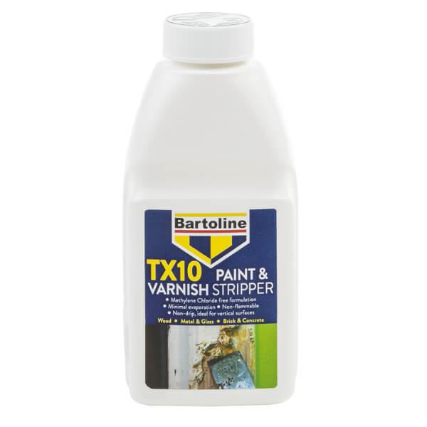Bartoline TX10 Paint & Varnish Stripper - 500ml
