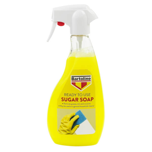Bartoline Ready To Use Sugar Soap Trigger Spray - 500ml