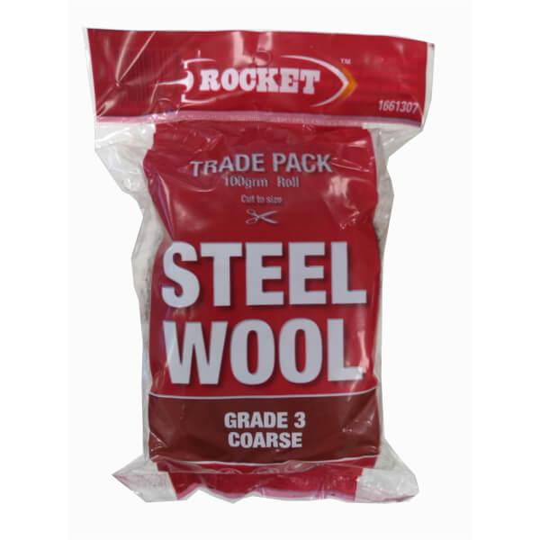 Rocket Steel Wool - 100 Grade 3 Coarse