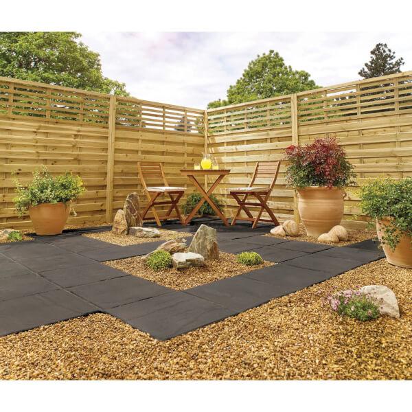Stylish Stone Horsham Paving 450 x 450mm - Charcoal