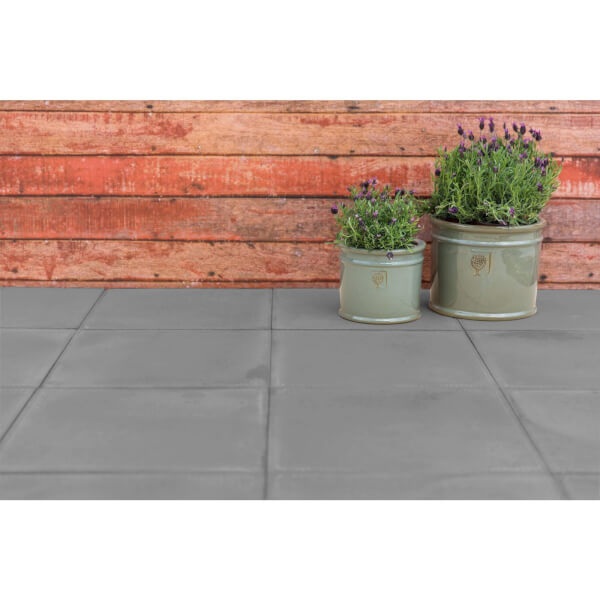 Stylish Stone Arundel Paving 450 x 450mm - Charcoal