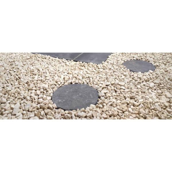 Stylish Stone Natural Stepping Stone 300mm - Charcoal