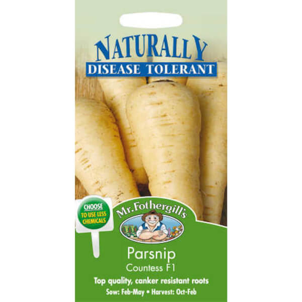 Mr. Fothergill's Parsnip Countess F1 Seeds