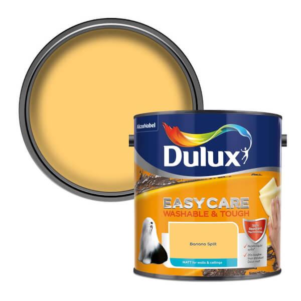 Dulux Easycare Washable & Tough Banana Split - Matt - 2.5L