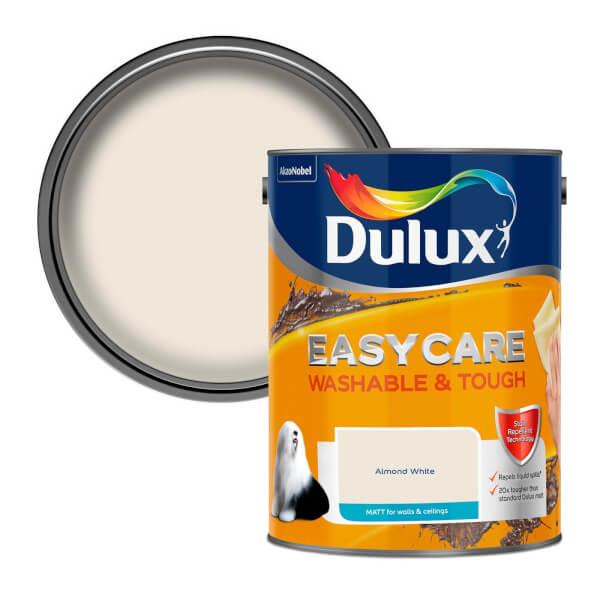 Dulux Easycare Washable & Tough Almond White - Matt - 5L