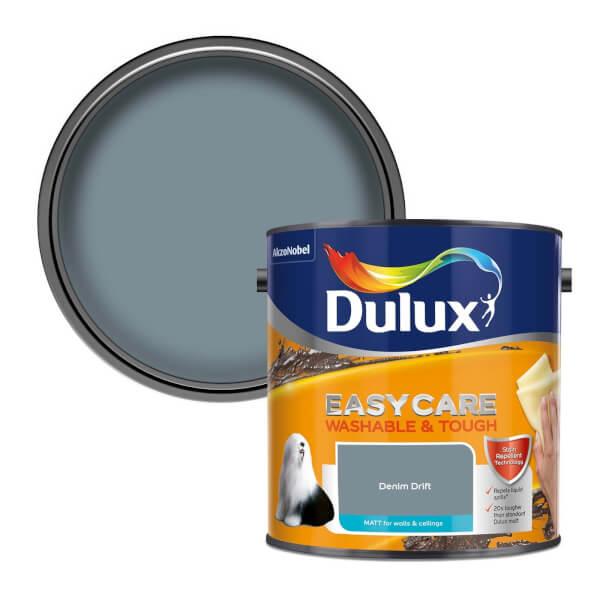 Dulux Easycare Washable & Tough Denim Drift - Matt - 2.5L