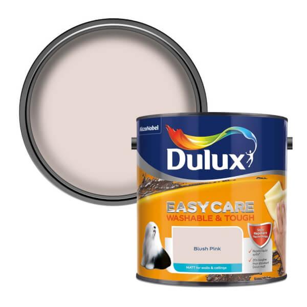 Dulux Easycare Washable & Tough Blush Pink - Matt - 2.5L