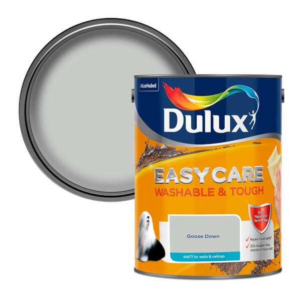 Dulux Easycare Washable & Tough Goose Down - Matt - 5L