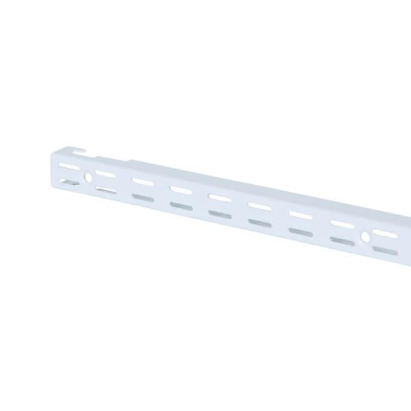 Double Slot Upright - White -1206mm