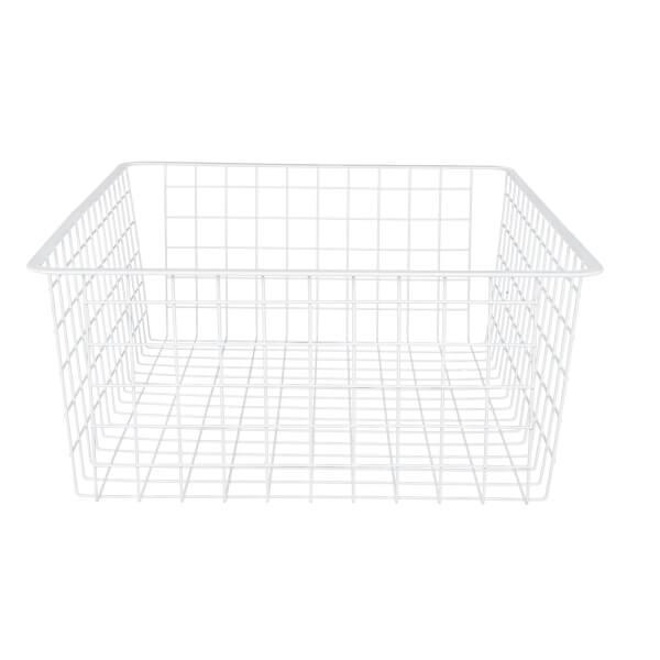 Wire 2 Runner Basket - White - 185mm