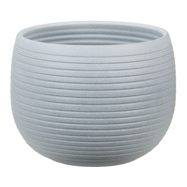 Plant Pot - Grey Stone  - 21cm