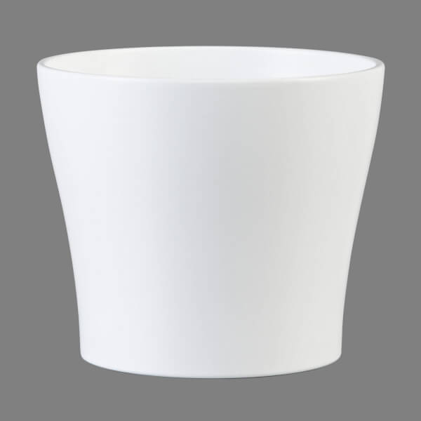 Plant Pot - White  - 24cm