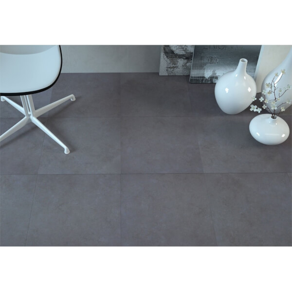 Oast Anthracite Floor Tile - 450 x 450mm