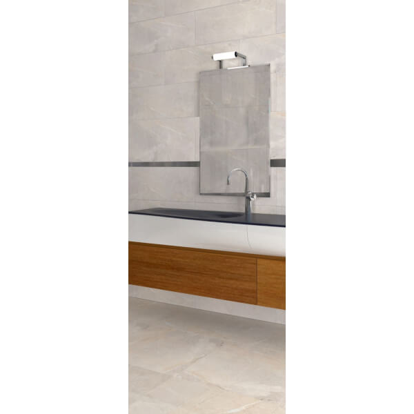 Anais Bone Wall & Floor Tile - 600 x 300mm