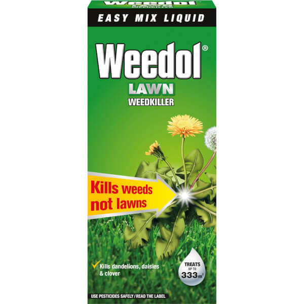 Weedol Lawn Concentrate Weedkiller - 500ml