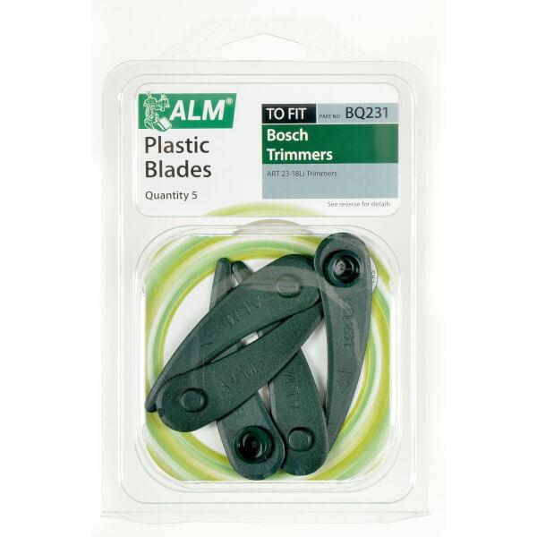ALM Plastic Grass Trimmer Blades for Bosch ART23-18Li