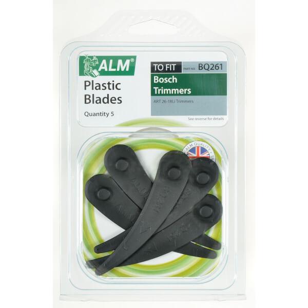 ALM Plastic BQ261 Lawnmower Blades for Bosch Models
